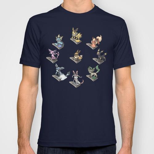 Eeveelution DJ Shirt